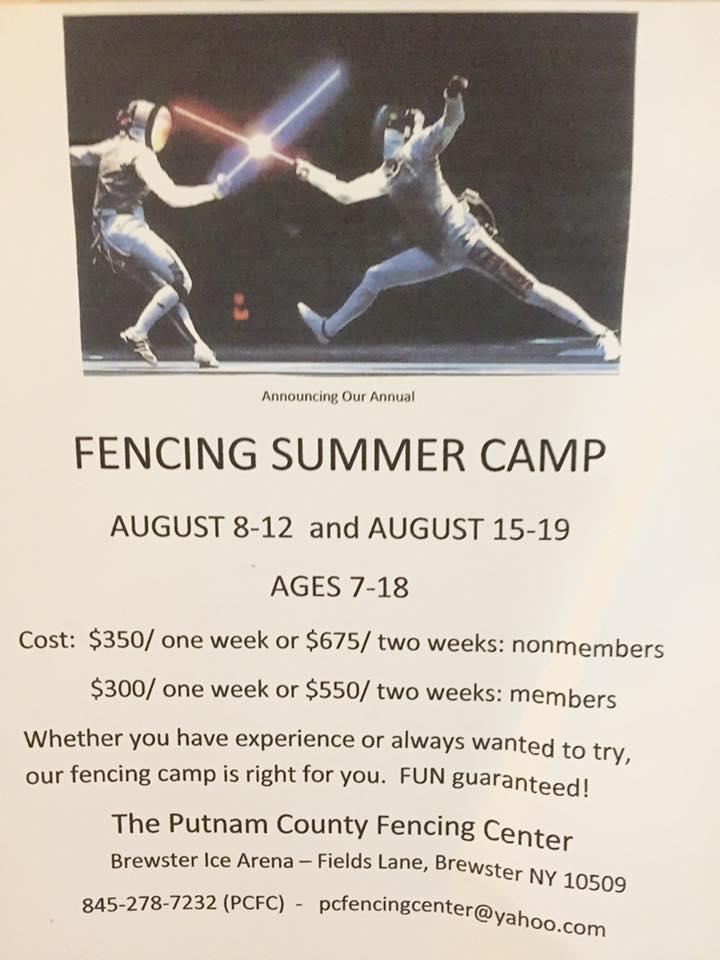 PCFC Summer Camp 2016