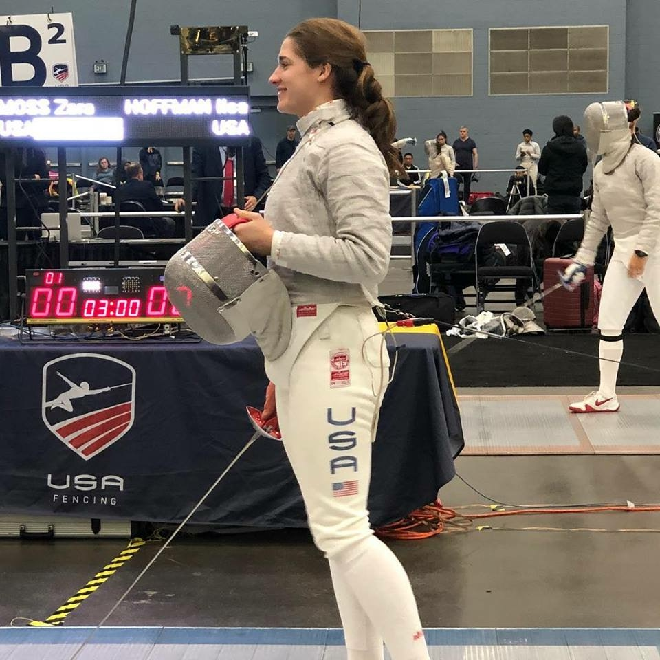 Ilsa makes top 32 in the December NAC 2018's Division 1 Sabre Event